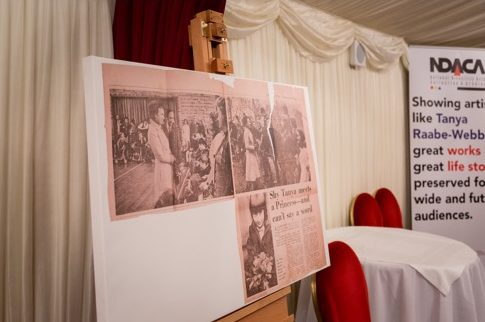 Canvas at House of Lords - newspaper
