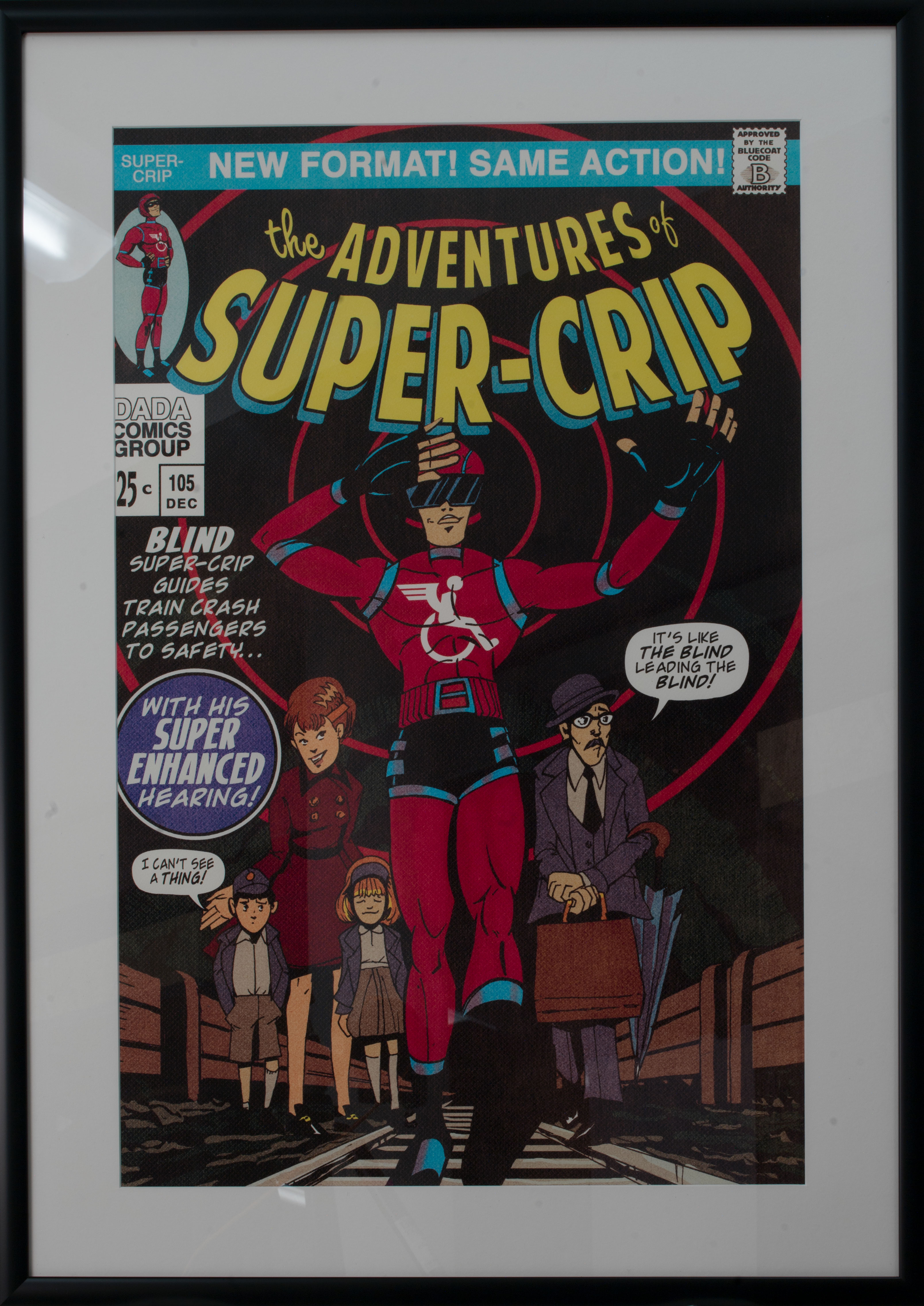 The Adventures of Super-crip by Andrew Tunney and Lawrence